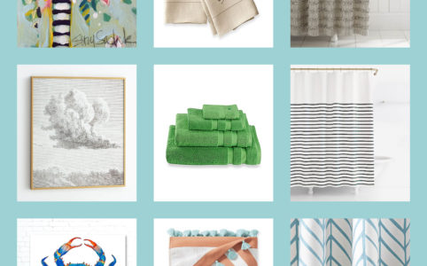 Serena And Lily Feather Shower Curtain Maison Mccauley
