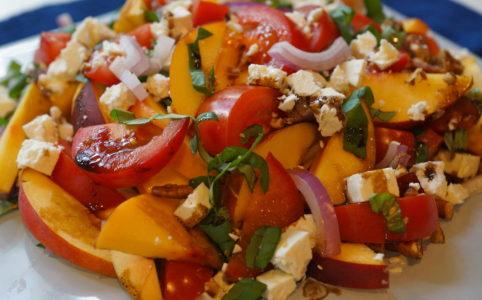Peach and Tomato Salad Recipe