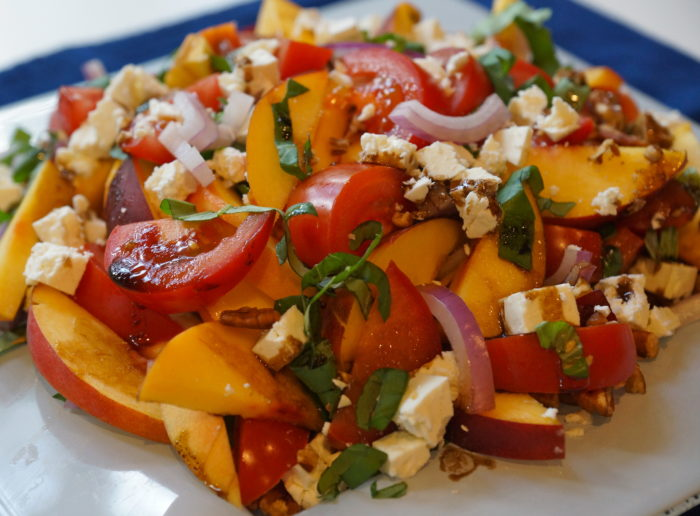 Peach and Tomato Salad Recipe