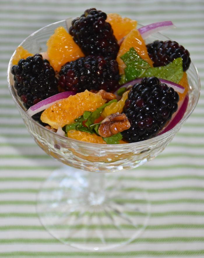 Blackberry Citrus Salad
