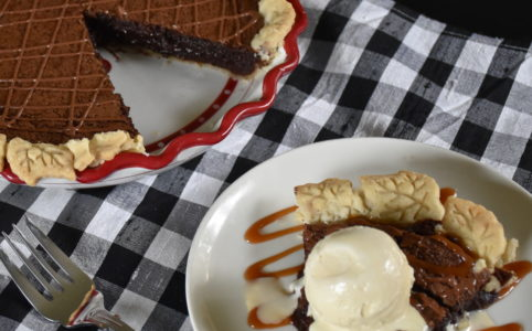 Chocolate Fudge Pie Recipe