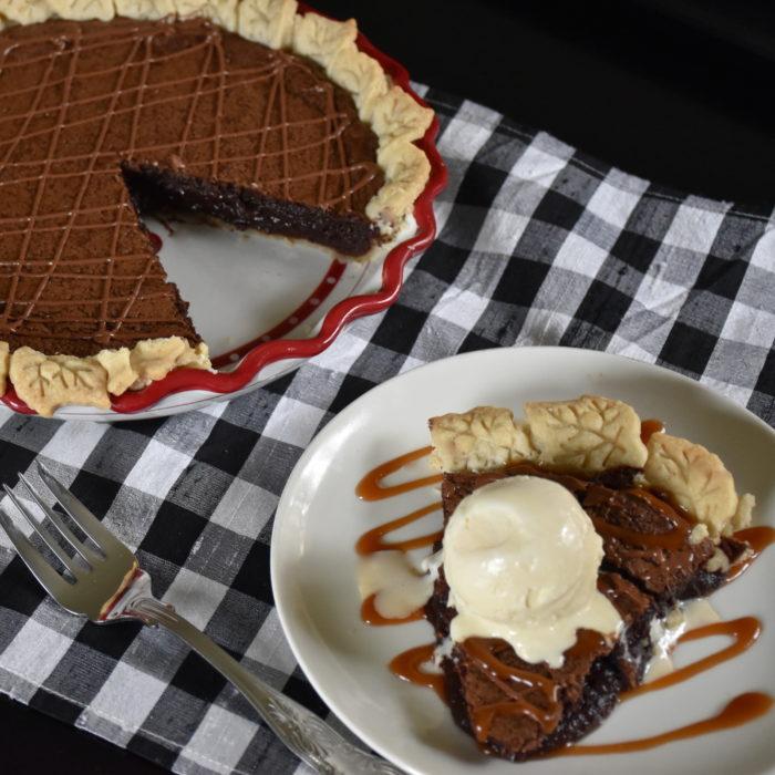 Chocolate Fudge Pie Recipe