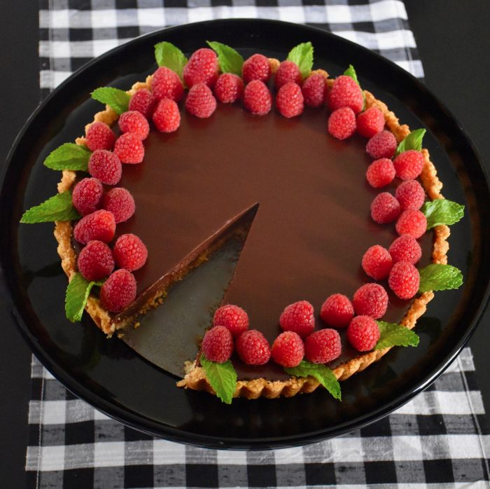 Chocolate Raspberry Tart Recipe