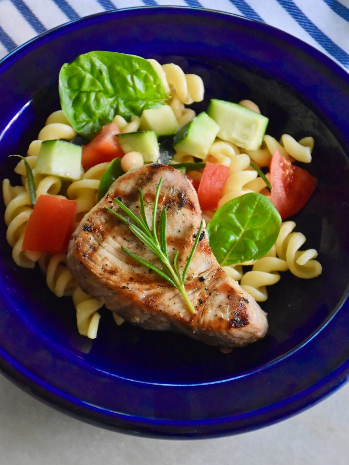 Tuscan Tuna Steak