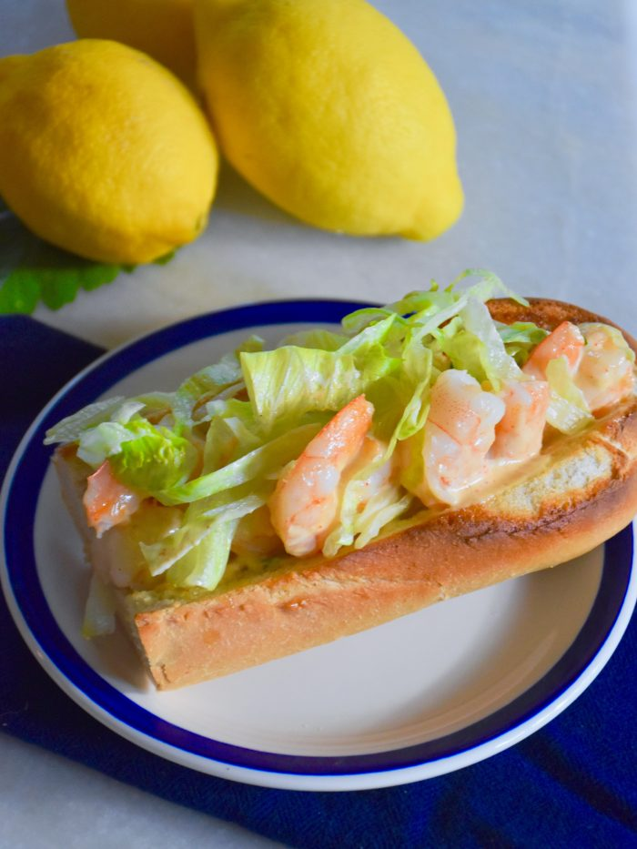 Shrimp Rolls with Remoulade Sauce