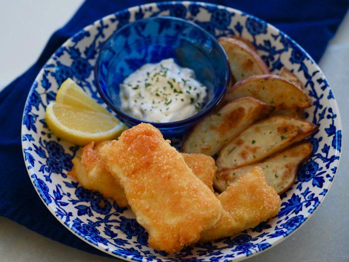 Instant Potato Fried Fish