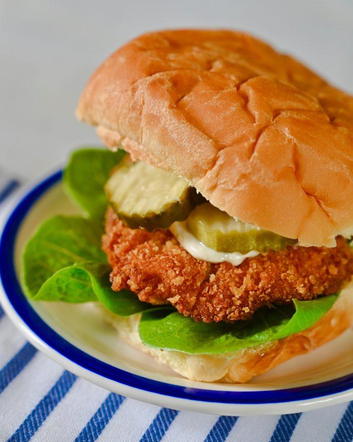 Panko Bread Crumb Chicken